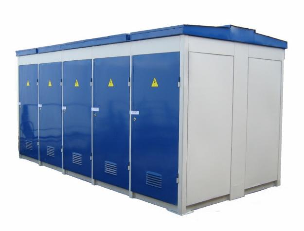 Комплектная трансформаторная подстанция (КТП)